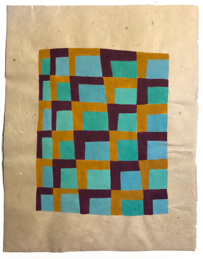 Martha Clippinger, 'Tapete Sketch (Cuadricula)', 2017