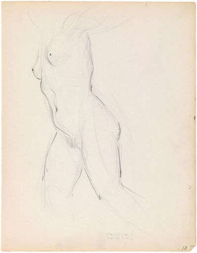 Charles White, 'RECLINING NUDE'