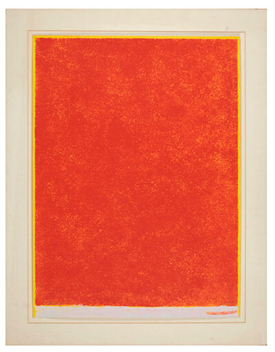 Theodoros Stamos, 'Red with Edges', ca. 1969