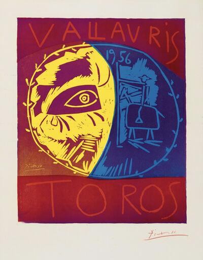 Pablo Picasso, 'Vallauris 1956, Toros', 1956