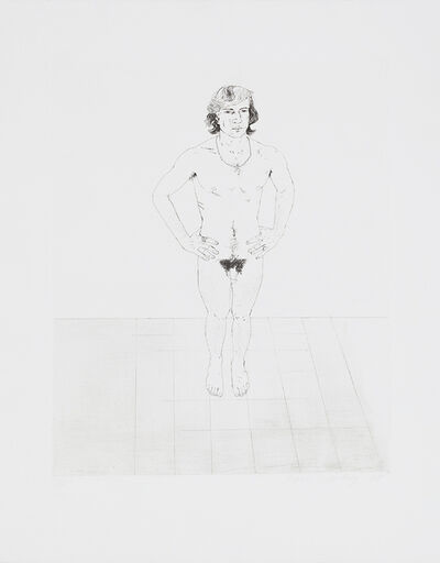 David Hockney, 'Peter', 1969