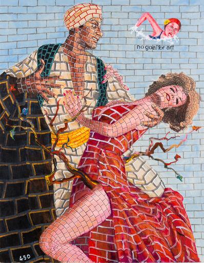 Tadanori Yokoo, 'no goal for art', 2015