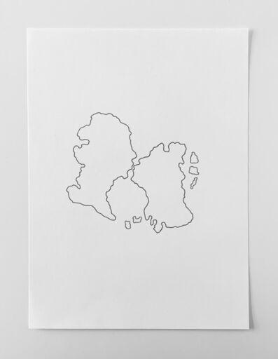 Alan Sierra, 'Los dos en el mundo', 2019