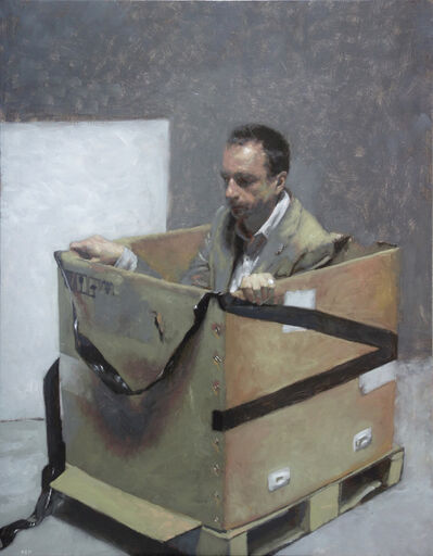 Rafel Bestard, 'Man on the box ', ca. 2017