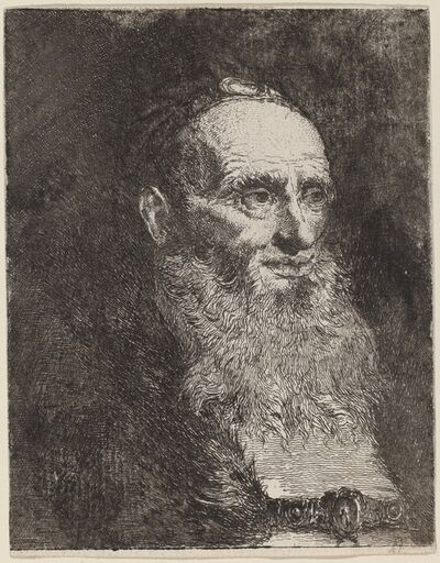 Giovanni Domenico Tiepolo, 'Old Man with a Beard', ca. 1762