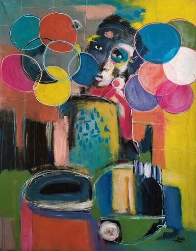 Casimir Bationo, 'Jeu d'enfance', 2019