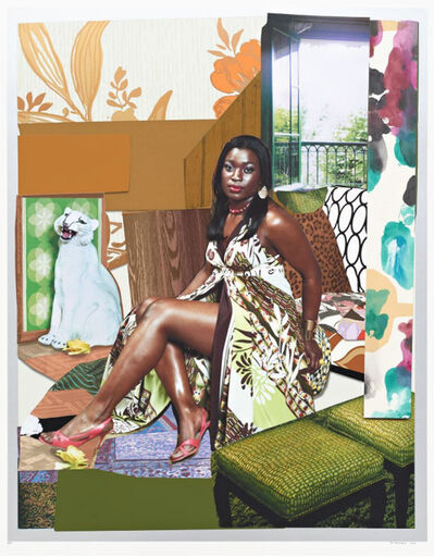 Mickalene Thomas, 'I've Been Good to Me', 2015