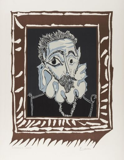 After Pablo Picasso, 'L'Homme a la Fraise (CZW 448)', 1973