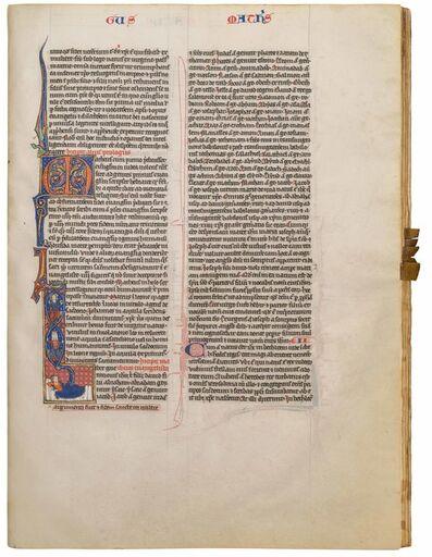 Royal Psalter Workshop, 'Biblia Latina', 1260-1270