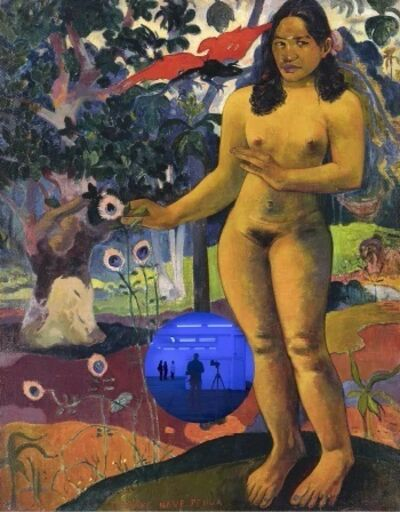 Jeff Koons, 'Gazing Ball (Gauguin Delightfull Land)', 2017