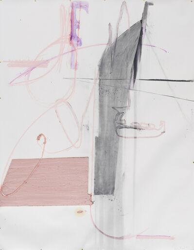 Nuno Ramos, 'Série Rocha de Gritos 5', 2017