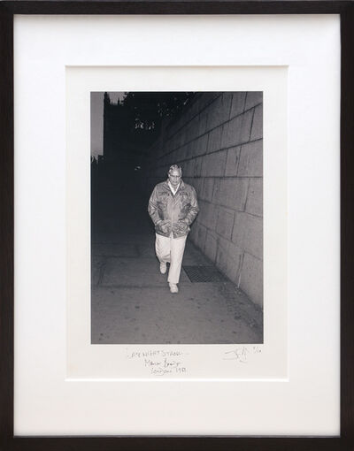 Jason Fraser, 'Late Night Stroll... Marlon Brando. London 1983.', 2019