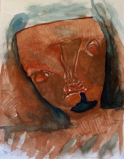 Francisco Toledo, 'Mascara Rojo', ca. 1960