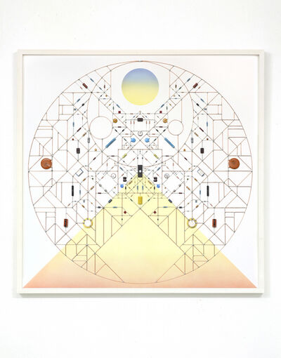 Leonardo Ulian, 'Technological Mandala 105 (Mountain Solace)'