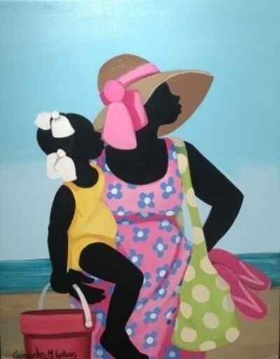 Cassandra Gillens, 'Beach Day', 2013