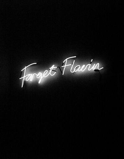 Anne-Katrine Senstad, 'Forget Flavin', 2008