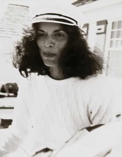 Andy Warhol, 'Andy Warhol, Photograph of Bianca Jagger in Montauk, 1982', 1982