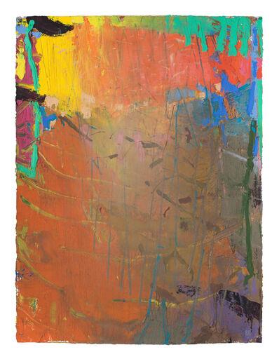 Brian Rutenberg, 'Looming Pine 4', 2018