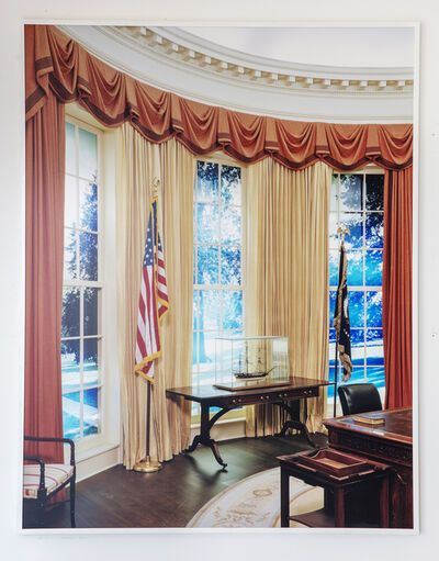 "Tim Davis, 'Oval Office (from ""My Life In Politics"")', 2004"