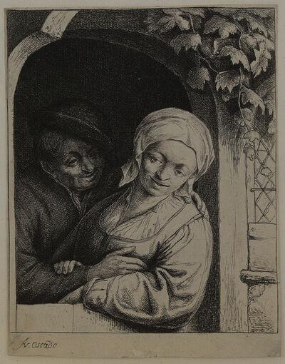 Adriaen van Ostade, 'Village Romance.', 1667