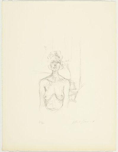 Alberto Giacometti, 'Buste I', 1960