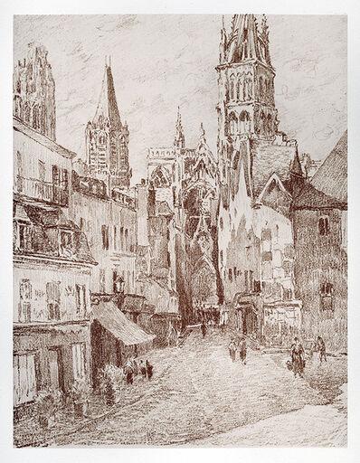 Camille Pissarro, 'Vieille Rue à Rouen', 1895