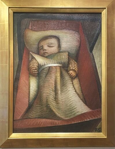 Theodore Fried, 'Baby in Bed', 1930