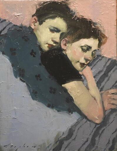 Malcolm T. Liepke, 'Close Couple', 2015