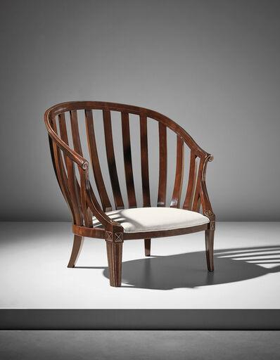André Groult, ''Gondole' armchair', 1920s