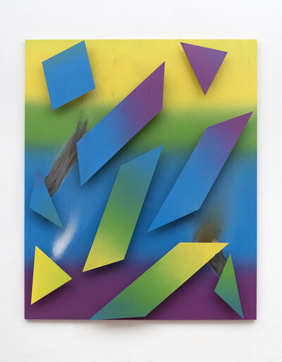 Sandra Kranich, 'R. Relief 2', 2016