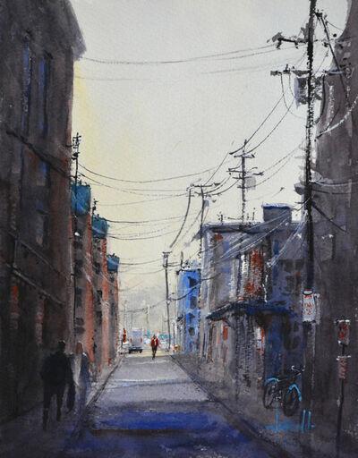 Judy Mudd, 'Dockside Alley', 2018
