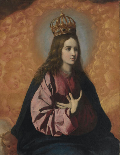 Francisco de Zurbarán, 'Regina Angelorum'