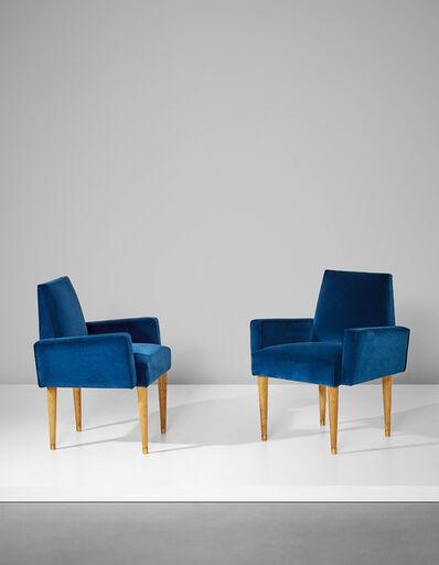 Jean Royère, 'Pair of armchairs', circa 1960