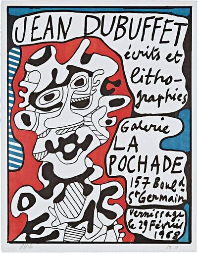 Jean Dubuffet, 'Ecrits et Lithographies (Hand Signed)', 1968