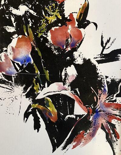 Edgar Arceneaux, 'Smoke Above the Headlines, (A Watercolor Study)', 2020