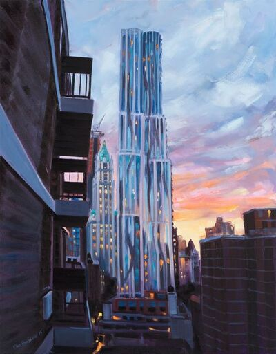 Ellen Bradshaw, 'Gehry and Woolworth Buildings', 2015