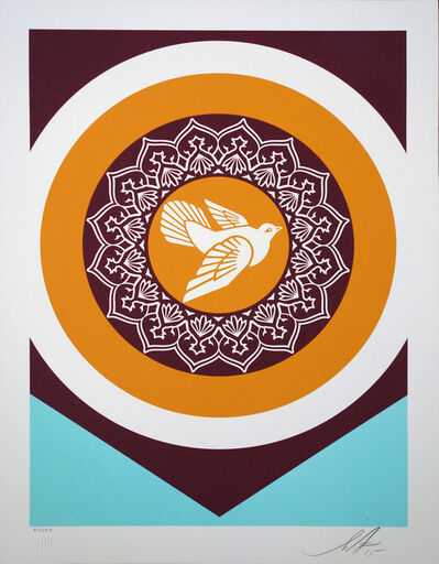 Shepard Fairey (OBEY), 'Peace Dove serie 1', 2018