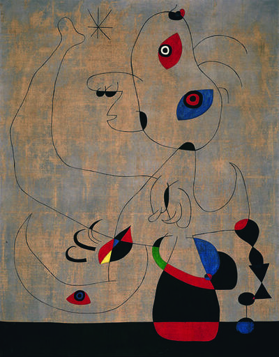 Joan Miró, 'Danseuse espagnole (Spanish Dancer)', 1945