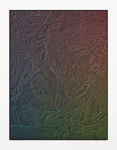 Michael Staniak, 'Oxide painting 093', 2019