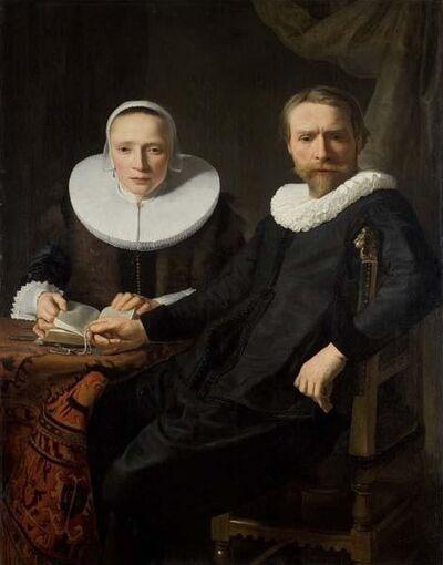 Abraham de Vries, 'A Double Portrait', 1830s
