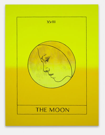 Mieke Marple, 'The Moon (Self-Portrait)', 2020