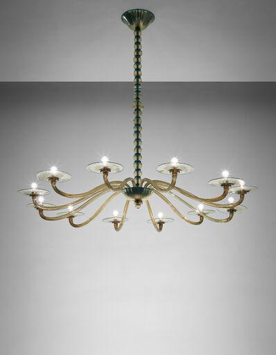 Vittorio Zecchin, 'Twelve-armed chandelier', 1925