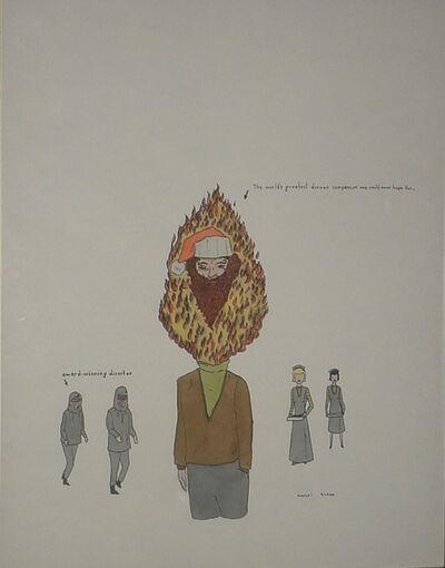Marcel Dzama, 'Untitled (Dinner Companion)', 2000