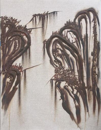 Kim Jong-Ku, 'Iron Powder painting'