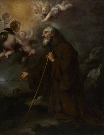 Bartolomé Esteban Murillo, 'The Vision of Saint Francis of Paola', 1670