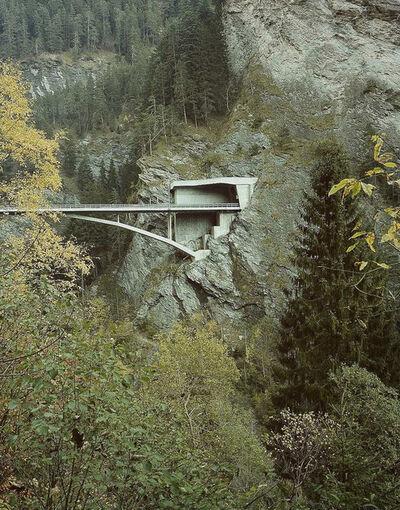 Margherita Spiluttini, 'Viamalabrücke (Christian Menn), Switzerland', 2000