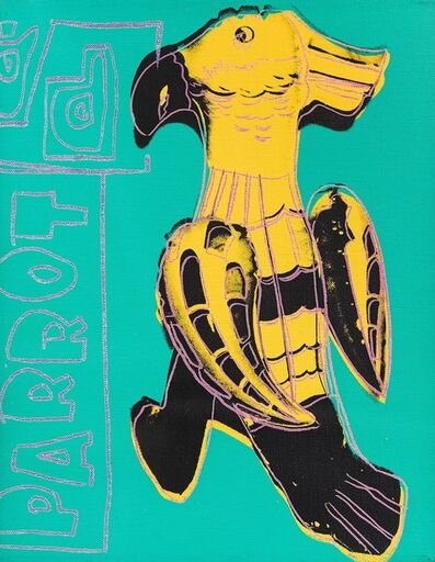 Andy Warhol, 'Parrot (Toy Paintings)', 1983
