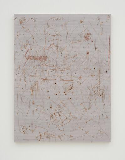 Thomas Wachholz, 'Ohne Titel (Reibfläche)', 2016