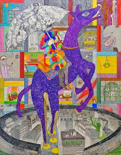 Peter Williams, 'Incarnate (Purple Horse)', 2019