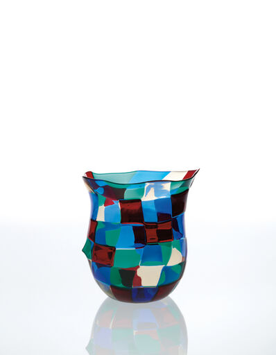 Fulvio Bianconi, 'Pezzato vase, model no. 4397', ca. 1950
